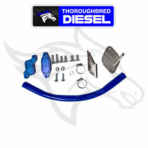 Gdp Egr Cooler Delete Kit 2006 2007 5 Gm Duramax Lbz