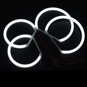 Cotton Smd Led Angel Eyes Halo Ring Drl Kit For Bmw E83 X3 2004 2010