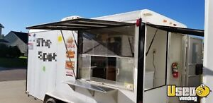 7 X 14 Food Concession Trailer For Sale In South Carolina