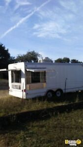 8 X 24 Food Concession Trailer For Sale In Texas