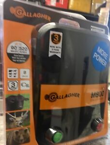 Gallagher M800 8joule Electric Fence Charger 520 Acres 90 Miles 644493323521 New