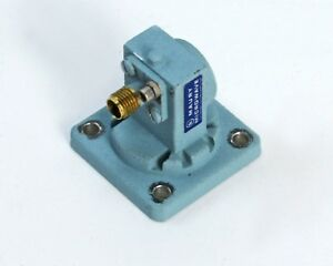 Maury Microwave P200a2 Waveguide To 3 5mm Adapter Wr 62 12 4 18 Ghz