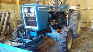 Ford 1500 4wd Tractor