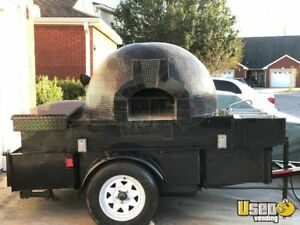 2018 5 X 8 5 Wood Fire Pizza Oven Trailer For Sale In Florida