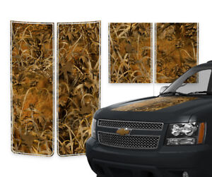 Chevy Avalanche Truck Racing Stripes Rally Decals Grass Camo Pinstripes 2000 06