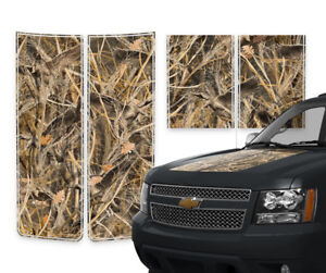 Chevy Avalanche Truck Racing Stripes Decals Duck Grass Camo Pinstripes 2000 2006