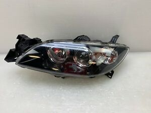 2004 2005 2006 2007 2008 2009 Mazda 3 Sedan Left Driver Halogen Headlight Nsf