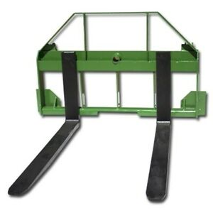 Titan 42 Pallet Fork Attachment Fits John Deere 200 300 400 500 Loaders