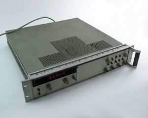 Hp Agilent 5328a Universal Counter 100mhz W Option 011 041