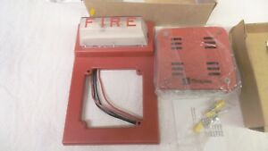 Simplex Fire Alarm Horn And Strobe 4903 9101 And 2901 9838 21 To 30 Vdc Nos