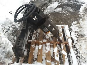 Bobcat 15c Post Hole Diggers Auger Skid Steer Attachment