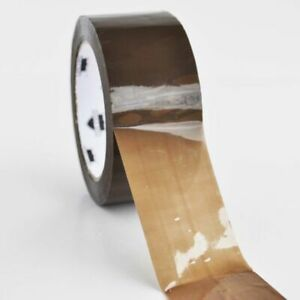 2 Inch X 55 Yards Brown tan Hotmelt Packaging Packing Tape 1 6 Mil 3240 Rolls