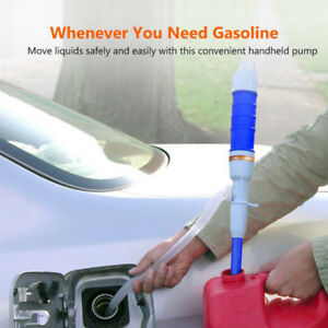Fuel Transfer Electric Siphon Pump Gas Oil Water Liquid Battery Operated 2 Color