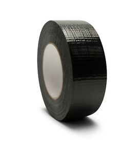2 X 60 Yards Black Duct Tape 7 Mil Utility Grade Packing Tapes 168 Rolls