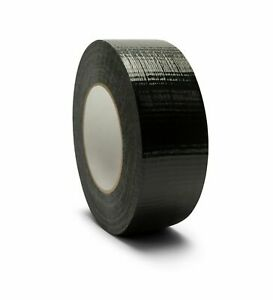 Utility Grade Black Duct Tape 7 Mil 2 X 60 Yards Waterproof Tapes 192 Rolls