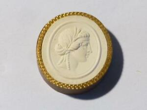 Antique Intaglio Tassie Proserpina Or Proserpine Plaster Grand Tour Seal 64