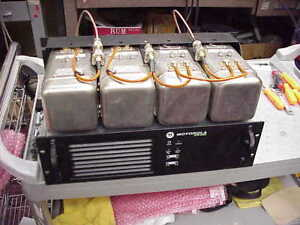 Xpr 8400 Uhf Dmr analog Repeater 403 470 Range With Duplexer 4 Cavity