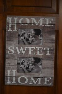 New Primitive Country Farmhouse Home Sweet Home Picture Frame Home Decor