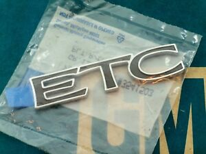 New 92 99 Cadillac Eldorado Etc Trunk Emblem Deck Hood Lid E g Vogue Ornament