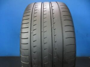 Used Yokohama Advan Sport V105 N 2 Suv 295 35 21 8 32 Tread No Patch 1764f