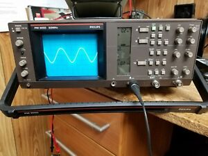 Philips Pm 3050 Oscilloscope Dual Trace Up To 60 Mhz