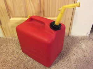 Vintage Chilton Sears Craftsman 5 Gallon Red Plastic Vented Gas Can Gott P 500