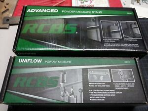 RCBS Reloading Uniflow Powder Measure 9010 & Stand 9092 new! Complete