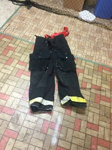 Firefighter Gear Turnout Pants Lion Apparel 38 Costume Or Use