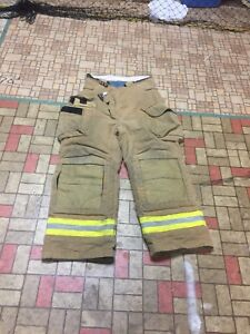 Firefighter Gear Turnout Pants Lion Apparel 36 Costume Or Use