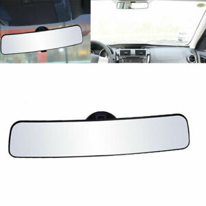 Rear View Mirror Universal Wide Angle Rear View Mirror With Suction Installation