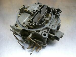 Rochester Quadrajet 4 Bl 1970 Chevy Manual Trans California Only Carb 7040511
