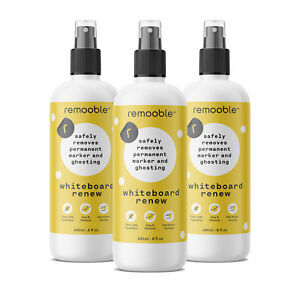 Remooble Bio based Whiteboard Renew Cleaner Set Of 3