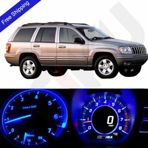 Blue Led Dash Cluster Instrument Lighting Kit Fits 1999 2001 Jeep Grand Cherokee