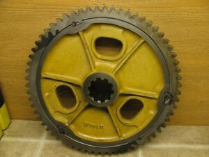 Oliver 77 Tractor M1140 Bull Gear Heavy Lamp Base Stand Steampunk Industrial Age