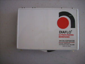 One Box Of 3 New Amicon Diaflo Ultrafiltration Membranes For Stirred Cell Ym30