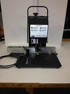 Challenge Machinery Jo Paper Drill Tabletop 120v Excellent Cond W guide