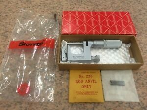 Starrett 220cfl 1 Multi anvil Micrometer machinists Tools