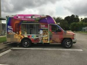 2015 Solar Powered Ice Cream shaved Ice food Truck For Sale In Texas