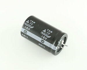 25x 15000uf 16v Radial Snap In Mount Electrolytic Capacitor Dc 85c 15000mfd
