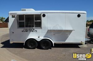 7 X 16 Shaved Ice Concession Trailer For Sale In Arizona