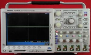 Tektronix Mso4034 Mixed Signal Oscilloscope 350 Mhz 2 5 Gs s C001492