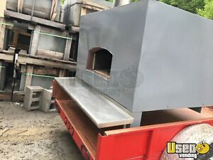 2015 6 X 10 Wood Fired Pizza Oven Trailer For Sale In Connecticut