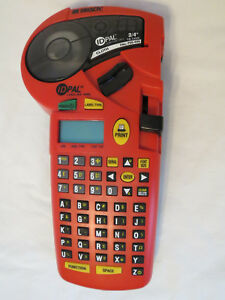 Brady Id Pal Labeling Tool Label Printer Works Nice Condition