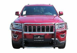 Steelcraft 52340 Grille Guard Black Fits 2011 2018 Jeep Grand Cherokee