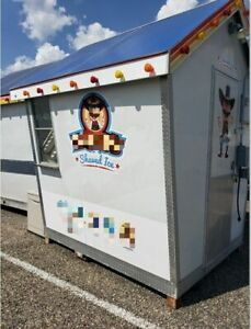 2010 10 X 12 Sno Shack Shaved Ice Concession Trailer For Sale In Texas