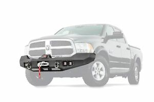 Warn Ascent Front Bumper For 2013 2018 Dodge Ram 1500 100922