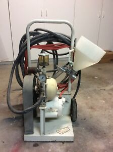 Goldblatt Texture Machine Sprayer Pattern Electric Compressor 50 Hose
