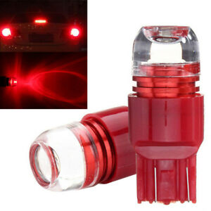 7443 7440 Red Flash Strobe Stop Brake Tail Light Led Bulbs For Honda Civic Cr V