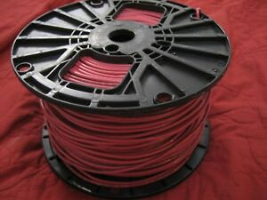 Southwire 14ga Gauge Solid Copper 600v Volt Insulated Wire thhn thwn awm Red Awg