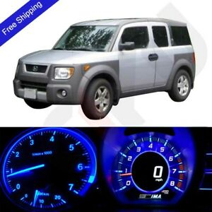 Blue Led Dash Cluster Instrument Panel Lighting Kit Fits 2003 2006 Honda Element